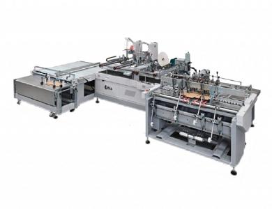 Linha de produção de caixas para comércio eletrônico | Ortigia